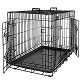 FEANDREA Cage pour Chien 2 Portes...