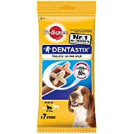 Pedigree Dentastix Dental Dog Chews - Medium Dog, Pack of 10 (Total 10 x 7 Sticks)