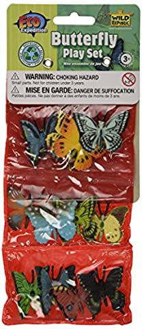 Wild Republic Playset Different Butterfly (12 Pieces)