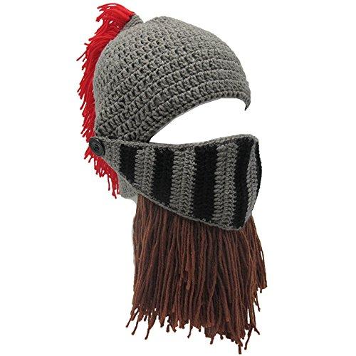 Hüte Handgemachte Strick Warme Winter Caps Ski Lustige Maske Beanie für Männer Frauen (Halloween-die Besten Masken)