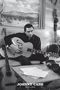 Johnny Cash - Man In Black - Guitar - Maxi Poster - 61 cm x 91.5 cm