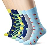 My Way Herren Socken Graphic Vibes, 6er Pack
