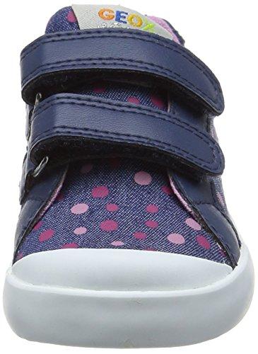 Geox - B Kilwi Girl - Chaussures Marche Bébé - Fille Bleu (Avioc4005)