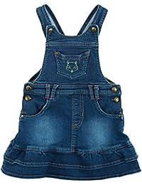 Sigikid Mädchen Rock Jeans Latzrock, Mini