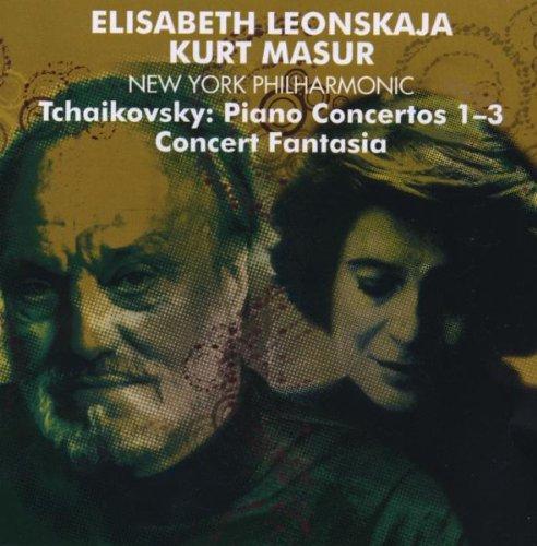 TCHAIKOVSKY - Piano concertos 1-3 - Concert fantasia
