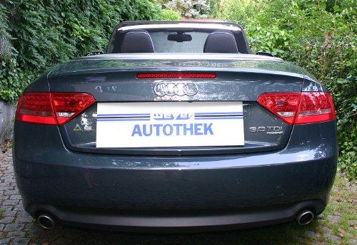 AutoStyle 1123 - Deflettore d'aria per Audi A5 cabrio (modelli dal 2009) - Audi A5 Cabrio