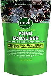 Envii Pond Equaliser - Pond pH Buffer Instantly Balances, and Stabilises pH, KH and GH Levels - Treats 2,500 Litres