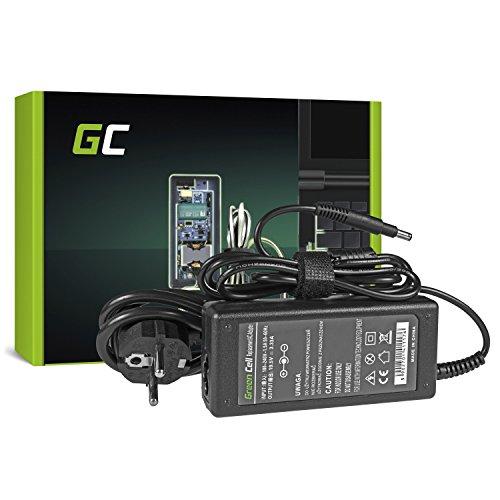 Green Cell Fuente de alimentación para HP Spectre XT 15–400015–4100Envy Spectre 14–3000XT 13–2000Voodoo Envy 133Envy 6–10004–100013–1000Pavilion 14de B C de 15B Chromebook 14Stream x360P Laptop Cargador de corriente con cable (19.5V 3.33A 65W)