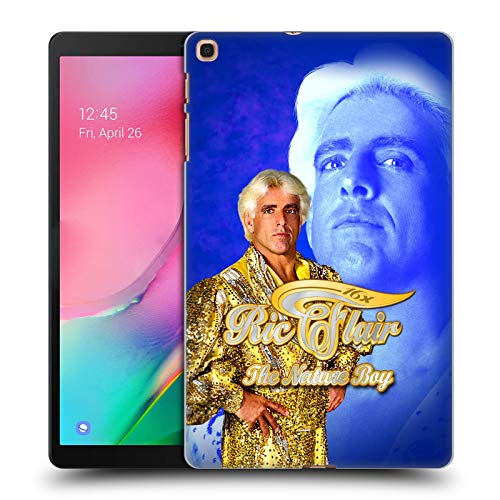 Head Case Designs Offizielle WWE Goldene Robe RIC Flair Harte Rueckseiten Huelle kompatibel mit Samsung Galaxy Tab A 10.1 (2019)