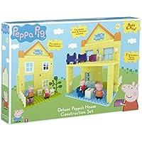 Peppa Pig - Build & Play - La Casa de Peppa - Construction Set 2 Mini Figuras