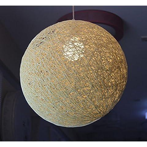Il ristorante L'illuminazione bird nest rattan maglione