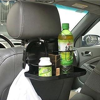 Getränkehalter Tablett hinten Auto Stand Auto Halterung Klappbar Schwarz