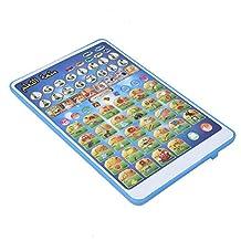 Leesmachine, educatief speelgoed Leren speelgoed Smart Point-leesmachine, tabletblok voor peuters(blue)