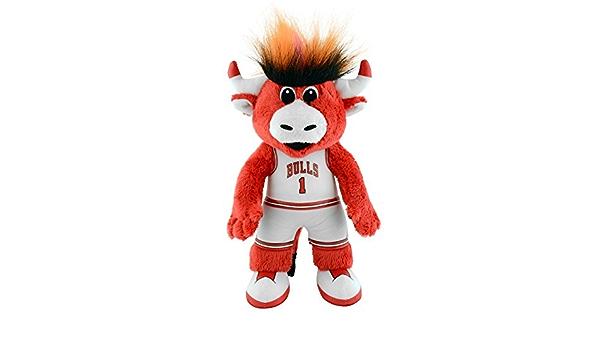 Chicago Bulls Benny The Bull 10 Plush Mascot Figure By Bleacher Creatures Amazon De Sport Freizeit