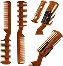 MMRM Nuevo pelo cortador corte Peinado Styling Navaja de peluquería adelgazamiento del condensador de ajuste del peine