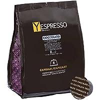 Yespresso Capsule Cioccolato Compatibili per Nescafe Dolce Gusto - Confezione da 32 Pezzi