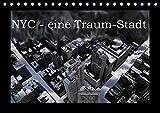 NYC - eine Traum-Stadt (Tischkalender 2017 DIN A5 quer): Eine Bilderserie über New-York-City, in welcher Schwarz-Weiss-Aufnahmen mit ... (Monatskalender, 14 Seiten ) (CALVENDO Orte)