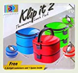 DP New Add-Justable Klip It 2 Thermoware Lunch Pack