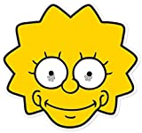 Star Cutouts Ltd Maschera di cartoncino Lisa Simpson-Maschera in cartone