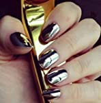 Ularmo 2 Box Or+Argent Nail Glitter P...