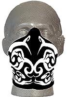 Bandero Biker mask Tribal White Ladies