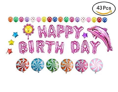 Somine Party Luftballons Set - inklusiv die Ballons mit Geformte