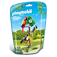Playmobil 6653 City Life Tropical Birds(Multi-color)