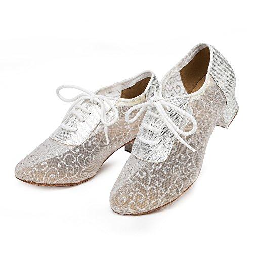 Miyoopark - Ballroom donna Silver-4cm heel