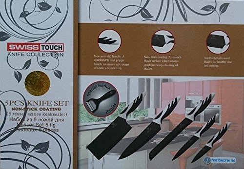 JPWOnline - Juego de cuchillos Swiss Touch 6pcs