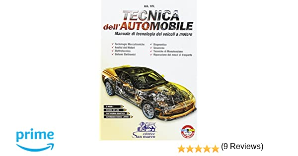 tecnica dell automobile  : Tecnica dell'automobile. Manuale di tecnologia dei ...