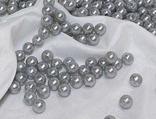 250x perle finte perle di cera Perline 8mm dekoperlen perline