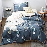 xiaodong& Biancheria da letto di cotone trapunta di cotone pieno 1,5 m lenzuola singole 1,2 m, 1.2m (4 feet) bed