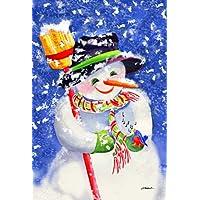 Toland Home Garden Snowman Delight Garden Flag