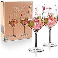 RITZENHOFF Design Aperitivo Rosato Glas , 2er-Set , M. Wüllner & M. Wüllner, A0371630