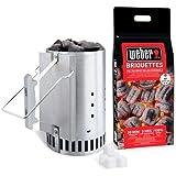 Weber - 17631 - Kit cheminée d'allumage pour barbecue charbon