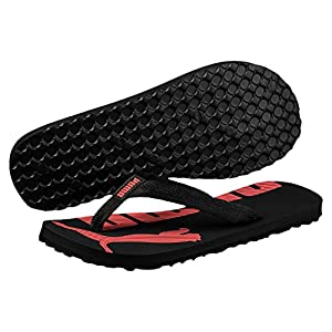 Puma Unisex-Erwachsene Epic Flip v2 Sneaker, Schwarz (Black-Hot Coral), 42 EU