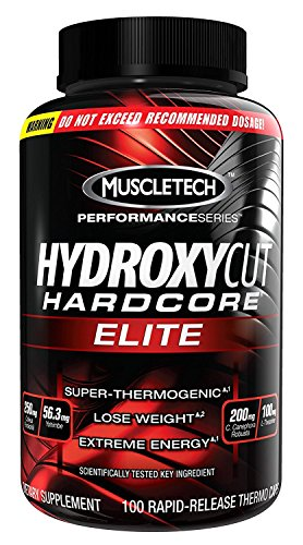 Muscletech Hydroxycut Hardcore Elite 100 Capsules - 100% Genuine  available at amazon for Rs.1990