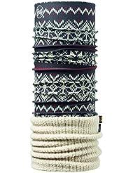 original buff polar thermal buff® knitsnow / bone - polar buff para unisex, color multicolor,  adulto