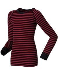 Odlo 10459 Maillot de corps ras de cou à manches longues pour enfant Warm