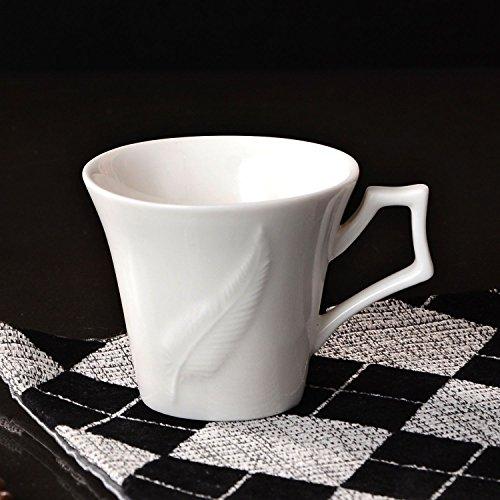HONGYUANZHANG Keramik Kaffeetasse Teetasse Restaurant Schale Home Decoration Wasser Tasse (100 Ml)