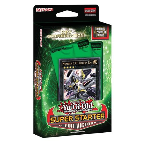Preisvergleich Produktbild Yu-Gi-Oh Starter Super-V für Victory Card Game