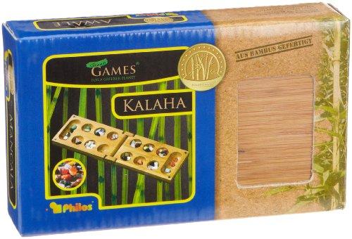 Philos-3258-Reise-Klapp-Kalaha-Bambus-Green-Games-Steinchenspiel-Strategiespiel