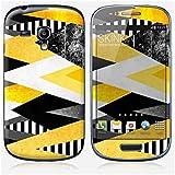 Sticker Samsung Galaxy S3 mini de chez Skinkin - Design original : Yellow Peaks par Elisabeth Fredriksson