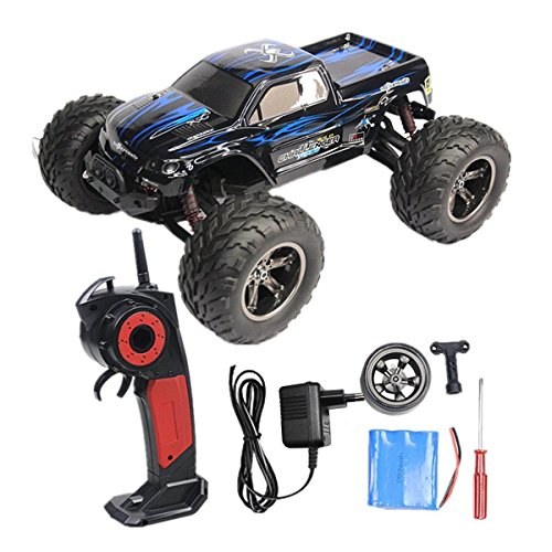 24GHz-112-Remote-Controlled-Cars-RC-Monster-Truck-Up-to-50MPH-High-Speed-and-with-100-Meter-Control-Range-Updated