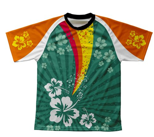Tropical-Fission-Technical-T-Shirt-para-Hombre-y-Mujer-Size-M