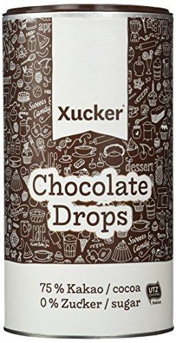 Xucker Chocolate-Drops, 75 % Kakao, 1er Pack (1 x 800 g)