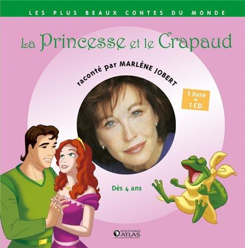 La Princesse et le crapaud (1CD audio) par Marlène Jobert