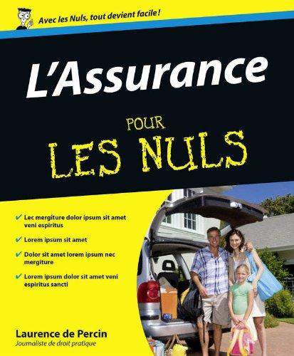 L'Assurance Pour les nuls par Laurence de PERCIN