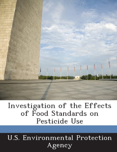Investigation of the Effects of Food Standards on Pesticide Use