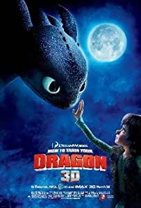"""HOW TO TRAIN YOUR DRAGON REPRODUCTION MOVIE PHOTO POSTER NO.1 16X12"""""""